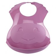 Thermobaby - Baveta din plastic Soft Orchid Pink