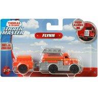 Mattel - Locomotiva Flynn , Thomas and Friends ,  Cu vagon, Push along