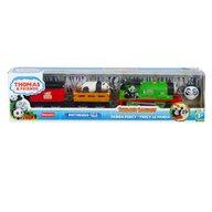 Mattel - Locomotiva Safari Panda Percy , Thomas and Friends , Motorizata