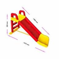 MyKids - Tobogan 140 cm , Red/Yellow