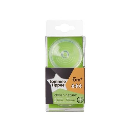 Tommee Tippee - Tetina Anti-colici cu flux rapid, 2 buc
