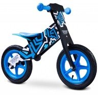 Toyz Bicicleta de lemn fara pedale ZAP Blue