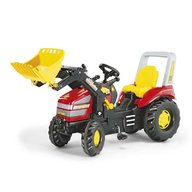 Rolly Toys - Tractor cu pedale copii 046775 , Rosu