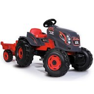 Smoby - Tractor cu pedale si remorca Stronger XXL