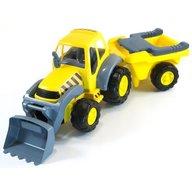 Miniland - Tractor Excvator cu remorca