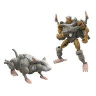 Hasbro - Figurina Robot Decepticon Rat trap , Transformers , Seria War for Cybertron, Multicolor