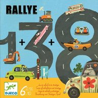 Djeco - Joc Trasee si kilometri Rallye