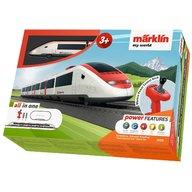 Marklin - Tren de calatori cu sine si telecomanda Swiss Express