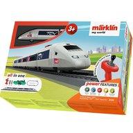 Marklin - Tren de calatori cu telecomanda si accesorii TGV Starter Set