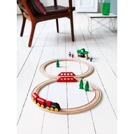 BRIO - Tren din lemn Clasic
