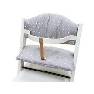 Treppy - Set pernute pentru scaun masa Treppy Stars Gray