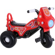 Super Plastic Toys - Tricicleta cu pedale Fireman