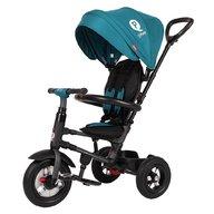 Qplay - Tricicleta cu roti gonflabile de cauciuc Rito air Albastru Deschis