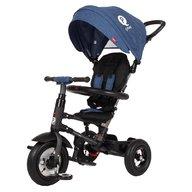 Qplay - Tricicleta cu roti gonflabile de cauciuc Rito air Albastru Inchis