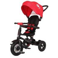 Qplay - Tricicleta cu roti gonflabile de cauciuc Rito air Rosu