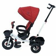 KidsCare - Tricicleta Evora Mecanism de pedalare libera, Suport picioare, Control al directiei, Spatar reglabil, Rotire 360 grade, Rosu