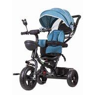Ecotoys - Tricicleta cu sezut rotativ, Albastru, Verde