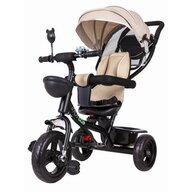 Ecotoys - Tricicleta cu sezut rotativ, Bej