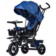 Ecotoys - Tricicleta cu sezut rotativ, Albastra