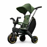 Doona - Tricicleta Liki Trike S3 Desert , Suport picioare, Control al directiei, Spatar reglabil, Pliabila, Verde