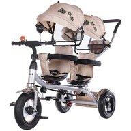 Chipolino - Tricicleta gemeni  2Play mocca