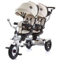 Chipolino - Tricicleta gemeni Tandem Beige