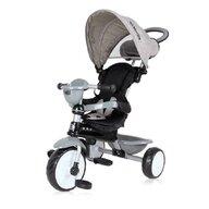 Lorelli - Tricicleta Mecanism de pedalare libera, Suport picioare, Control al directiei One, Gri