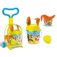 Mondo - Troller cu ghiozdanel Paw Patrol pentru copii cu jucarii plaja si galetusa