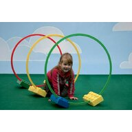 Active Play - Jucarie motrica Tunel de motricitate Hoops