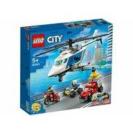 Set de joaca Urmarire cu elicopterul politiei LEGO® City, pcs  212
