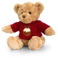 Keel Toys - Ursulet traditional cu pulover 25 cm