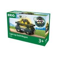 BRIO - Accesoriu Vagon luminos , Cu aur