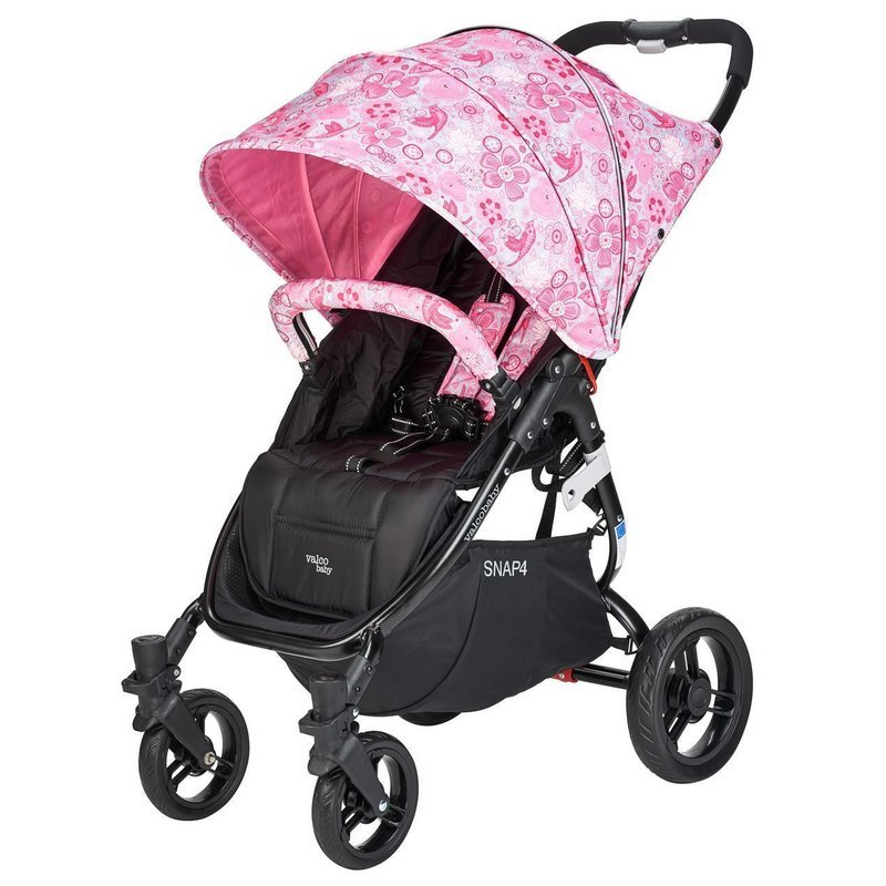 Valco Carucior sport SNAP 4 CZ Edition White and Pink Flowers