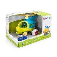 VikingToys - Elicopter in culori vesele cu 2 figurine, Jumbo