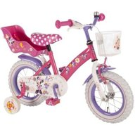 Volare - Bicicleta copii Minnie Mouse cu roti ajutatoare 12 inch