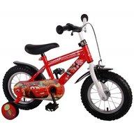 Volare - Bicicleta pentru baieti 10 inch cu maner si roti ajutatoare Cars