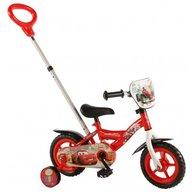 Volare - Bicicleta pentru baieti 12 inch cu roti ajutatoare Cars
