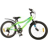 Bicicleta verde pentru baieti 20 inch cu 6 viteze Volare Blade