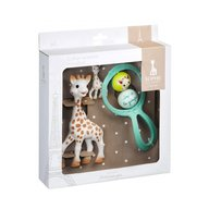 Vulli - Set cadou Girafa Sophie, zornaitoare Swing si breloc