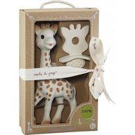 Vulli Set Girafa Sophie si figurina cauciuc dentitie So Pure