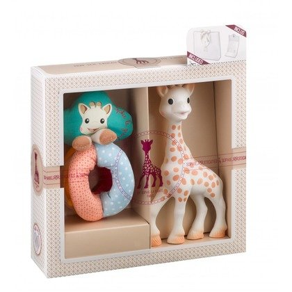 Vulli Set SOPHIEsticat Girafa Sophie + zornaitoare cu bile