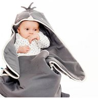 Wallaboo - Paturica Coco fun penguin, Grey