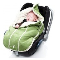 Wallaboo-Port bebe 0-12 luni Lime Green