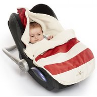 Wallaboo - Port Bebe 0-12 luni, Striped Red