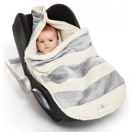 Wallaboo - Port Bebe 0-12 luni, Striped Silver