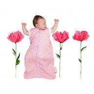 Wallaboo-Sac de dormit de vara 0-6 luni Pink