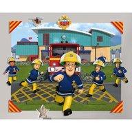 Walltastic - Tapet 3D pentru copii Pompierul Sam