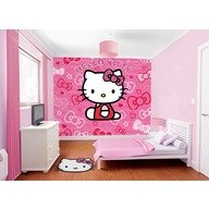Walltastic Tapet Hello Kitty Licentiat