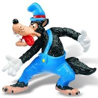 Bullyland - Figurina Disney Little Pigs, Big Bad Wolf