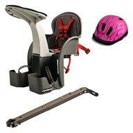 WeeRide Scaun de bicicleta si Casca protectie Flames Roz WeeRide WR01R